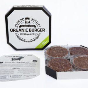 Hamburguesa orgánica tamaño foodservice