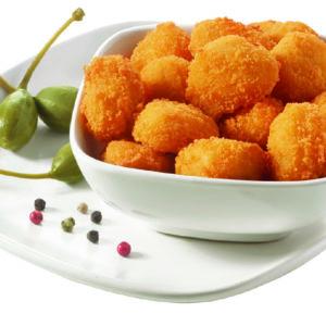 Palomitas de pollo pimienta