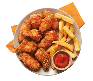 Alas de pollo crispy wings