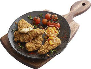 Solomillo de pollo estilo sureño
