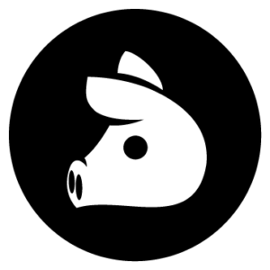 bomrarket cerdo icono