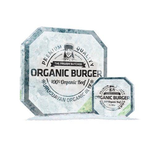 hamburguesa orgánica