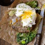receta hamburguesa orgánica