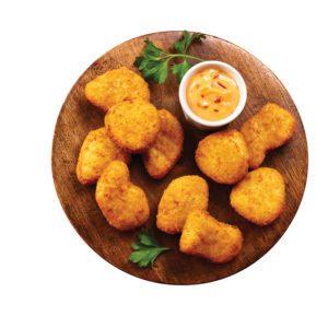 Nuggets crujientes de pollo