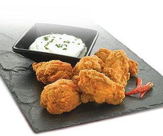Alas de pollo picantes Hot N kickin
