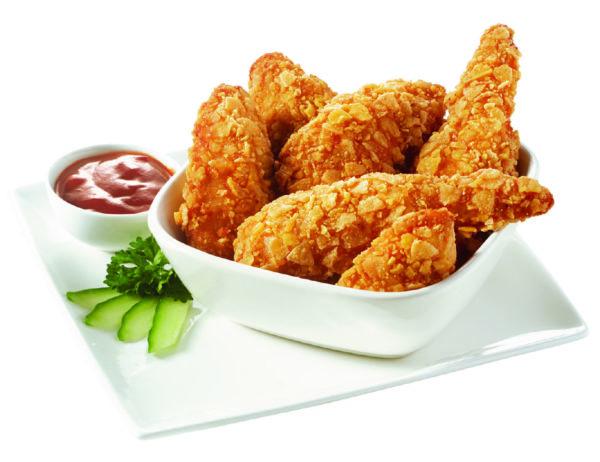 Pechuga de pollo cornflakes
