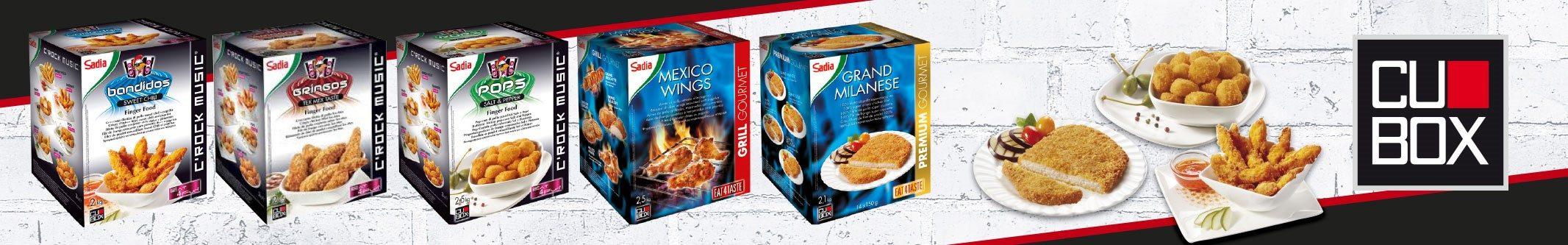 Sadia CUBOX elaborados pollo