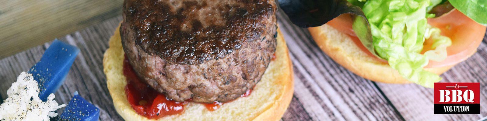 Hamburguesa de Angus 100% natural BBQ