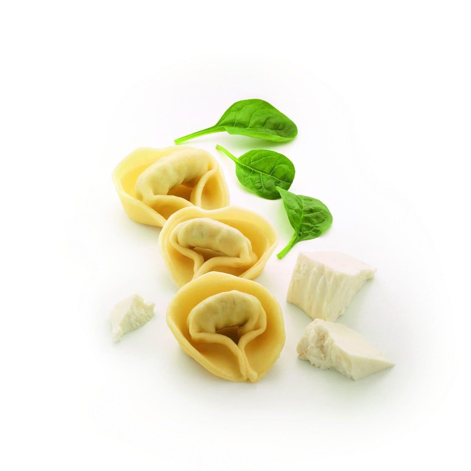 Tortelloni ricota y espinacas
