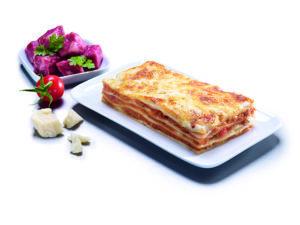 tipos de pasta: LASAÑA BOLOÑESA HILCONA