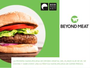 Beyond burger bormarket
