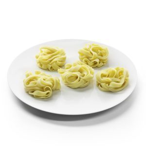 Tipos de pasta: TAGLIATELA NIDOS UDON HILCONA