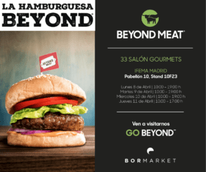 Salon de gourmets beyond meat