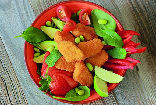 Minirollito primavera vegetariano