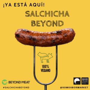 beyond sausage bormarket salchicha beyond meat