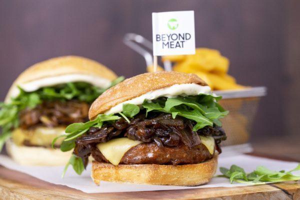 receta beyond hamrburguesa vegana