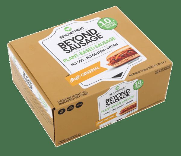 beyond sausage pack 10 unidades