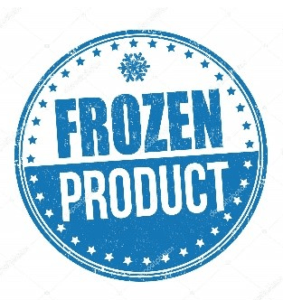 frozen product